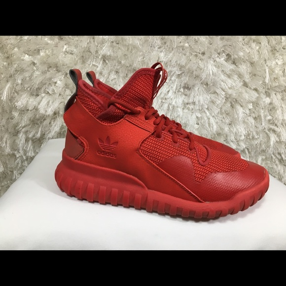 Adidas Tubular X Triple Red October Size 8